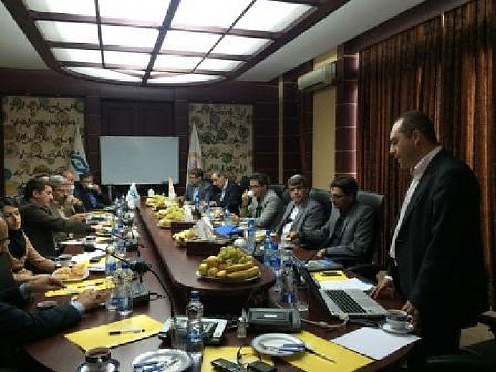تقدیر از دست اندرکاران اجرای قرارداد بانک ملی ایران