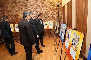 بازدید مدیرعامل محترم بانک ملی ایران از نمایشگاه دستاوردهای قرارداد بیمه درمان گروهی
